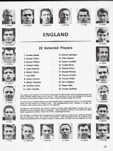 England squad 1966